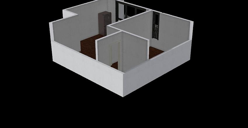 57 m Interior Design Render