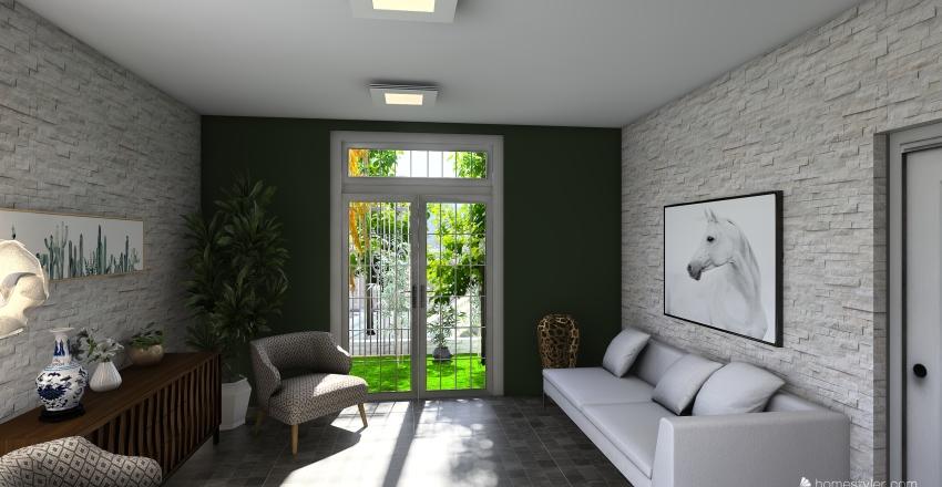 SALA ESPERA Interior Design Render