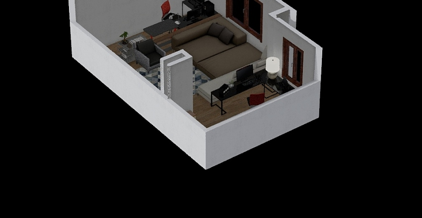 01vkstud Interior Design Render