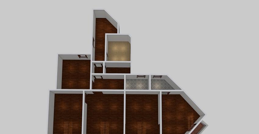 C/ Valencia 470, 4-1 Interior Design Render