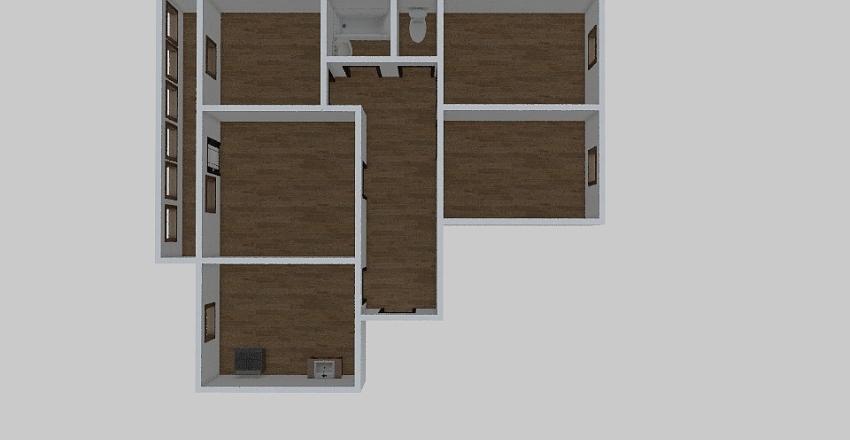 4-комн_057 Interior Design Render