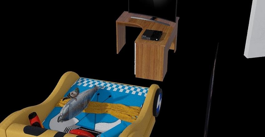 pez dormiendo Interior Design Render