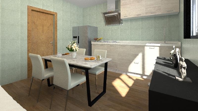 Projeto Apartamento. Interior Design Render