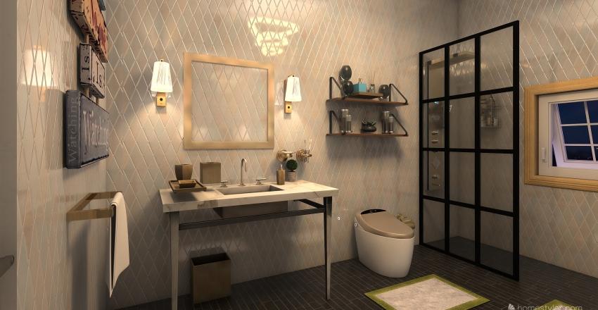 exam Interior Design Render