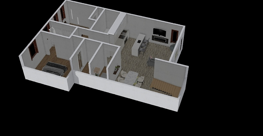 Aspen J2 Interior Design Render