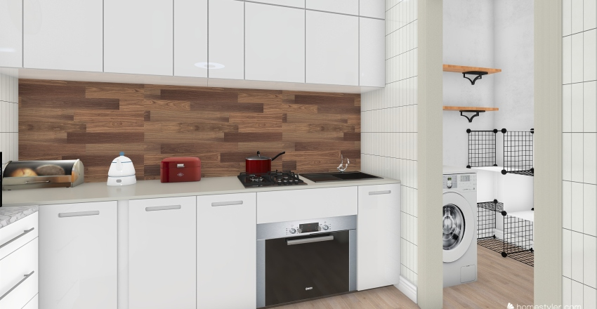 Proyecto Capellanes Interior Design Render