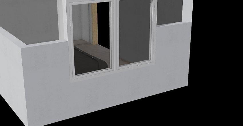 quarto masculino Interior Design Render