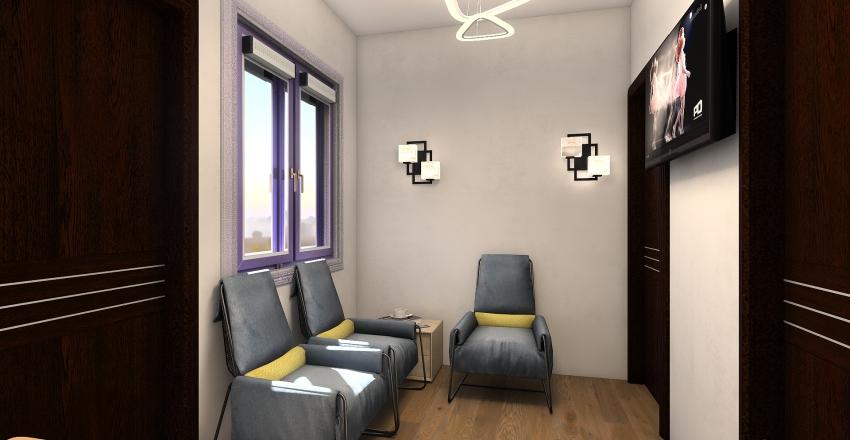 mini-apartamento Interior Design Render
