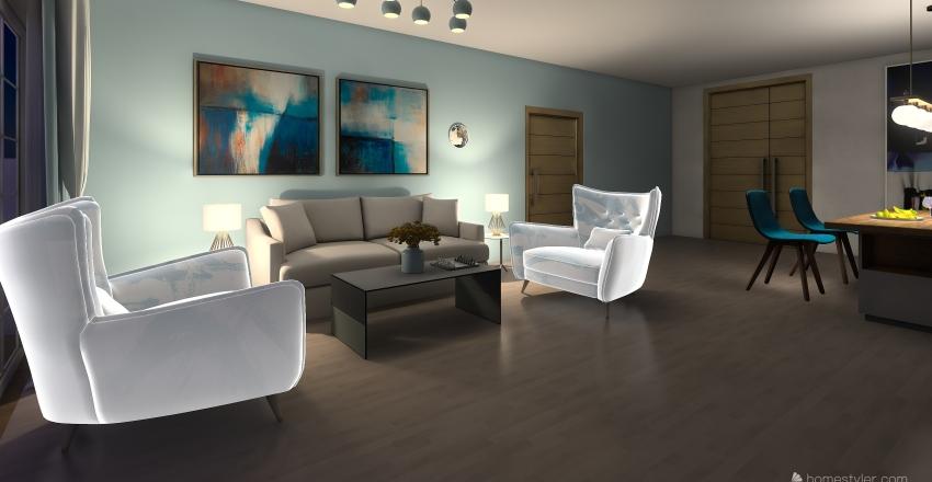 apartment 32 Interior Design Render