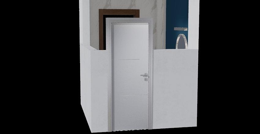 Otopeni baie etaj 2 Interior Design Render