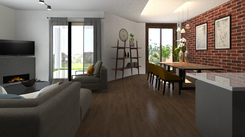 christos&georgia home 6 Interior Design Render
