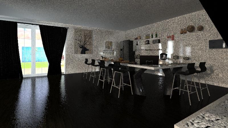 Casa Nossa Interior Design Render