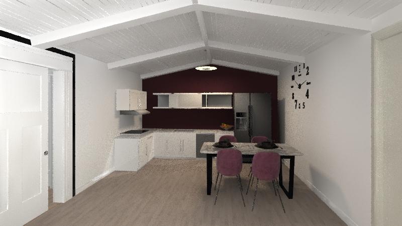 Casa in città Interior Design Render