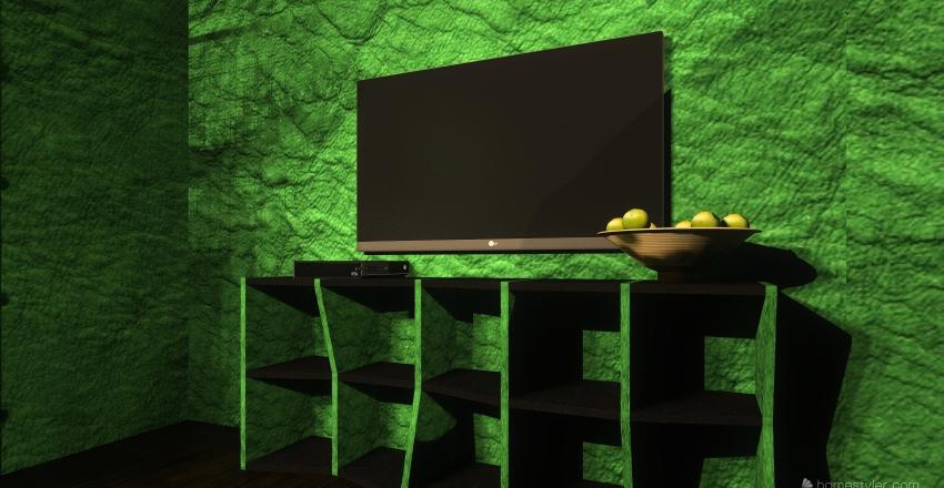 My HUT Interior Design Render