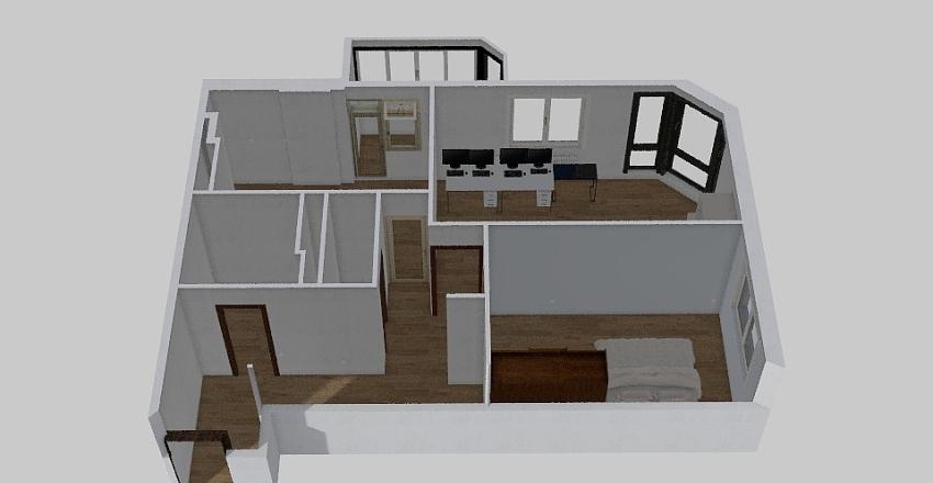 Bilogirska | Dream House (ГОТОВЕ) Interior Design Render