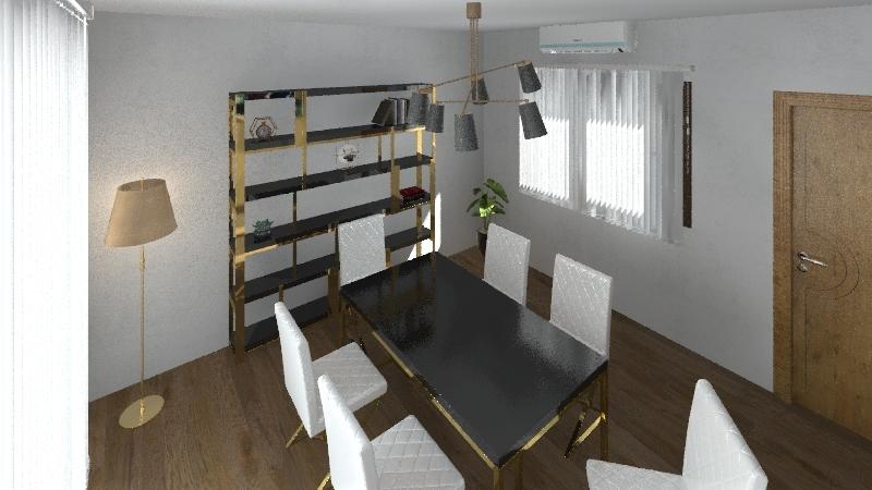 Meeting room Interior Design Render