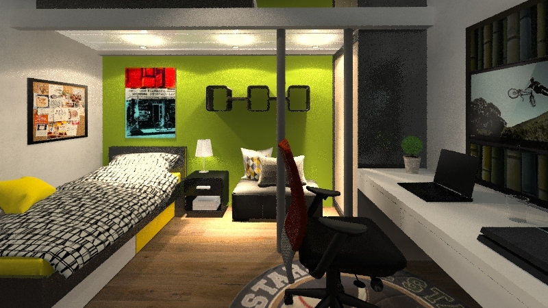 Cuarto Gian Interior Design Render
