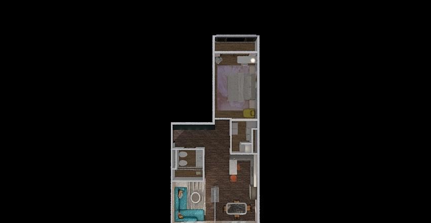 Olga apt 1 Interior Design Render