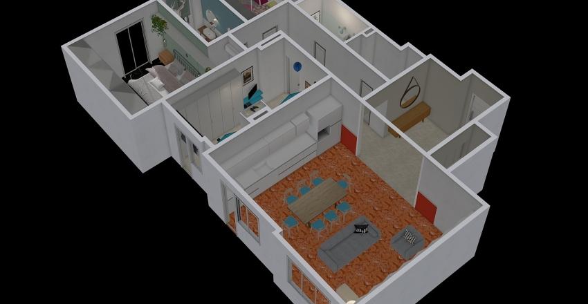 De marco 01 totale Interior Design Render