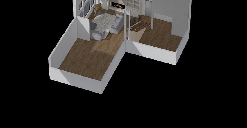 BUROKER fam room Interior Design Render