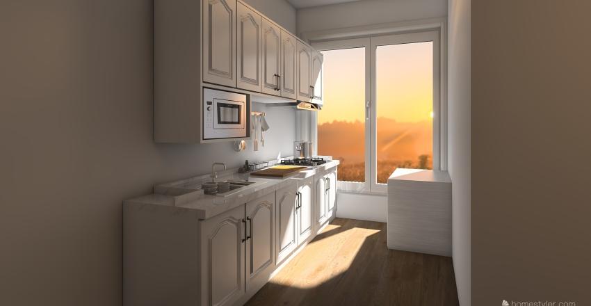 Keuken Ontwerp Interior Design Render
