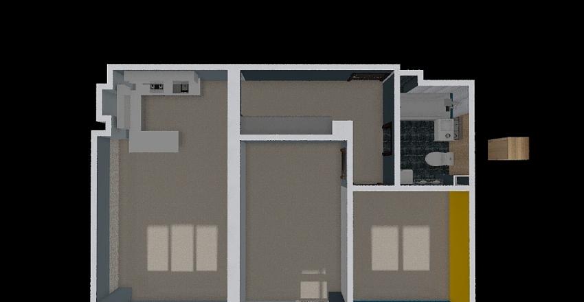 Тихие зори 467 квартира v 02 Interior Design Render