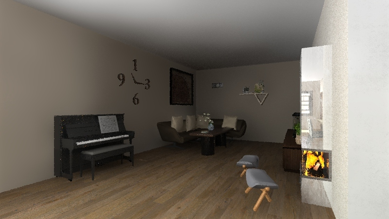 maison 3 Interior Design Render