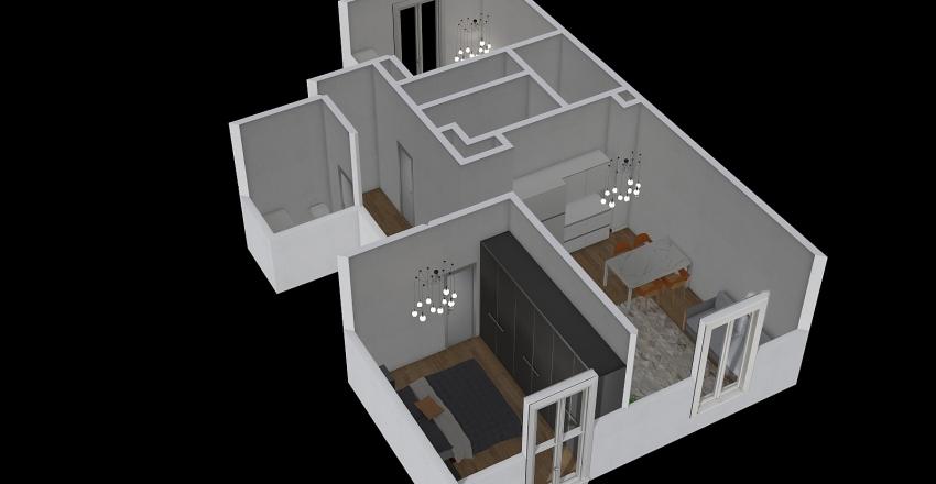 piazza gramsci 4 Interior Design Render