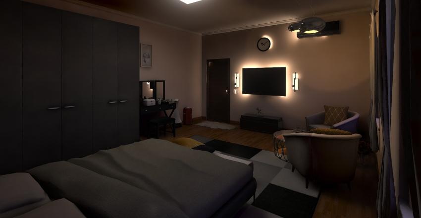 Bed Room Final Interior Design Render