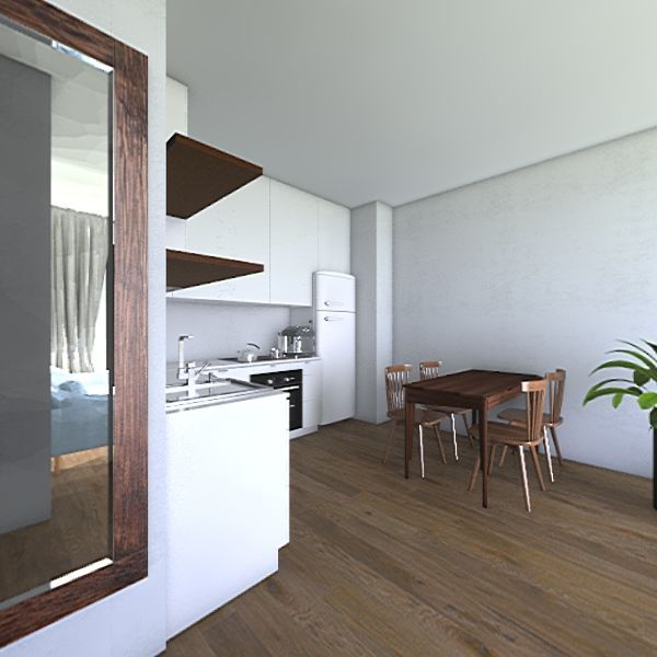 mieszkanie v1 Interior Design Render