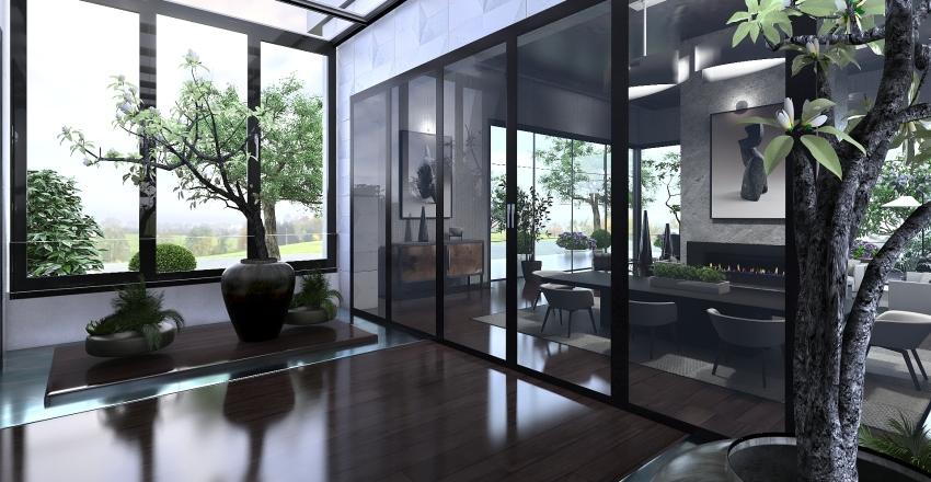 Apartamento lujo en zona residencial Interior Design Render