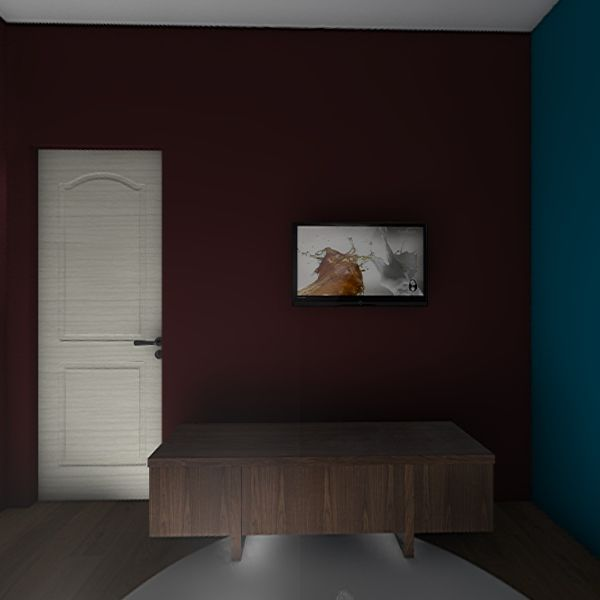 Salon-Bureau  Interior Design Render
