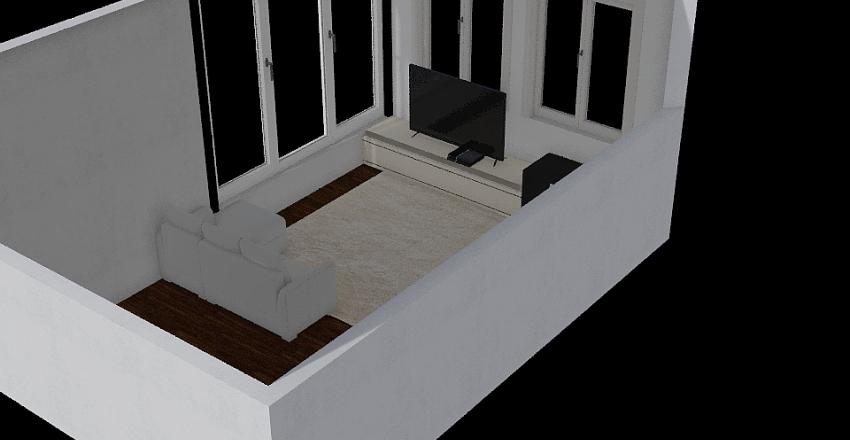 Зал Interior Design Render