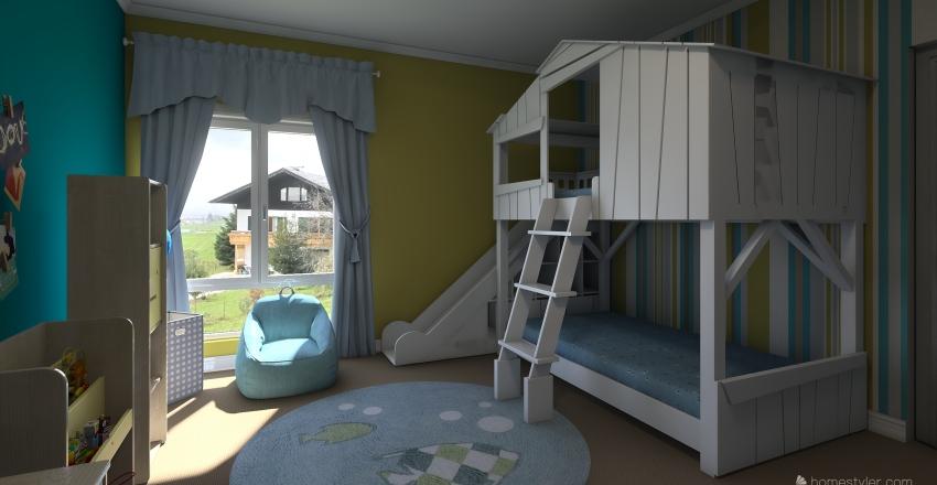 quarto kids Interior Design Render