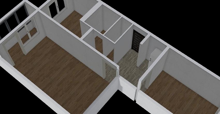 Serebrianka 15 38 Interior Design Render