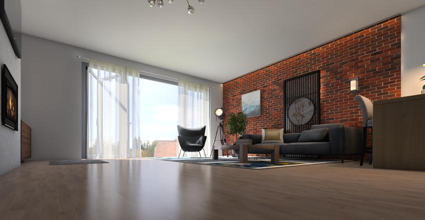 ŁUKASZ Interior Design Render