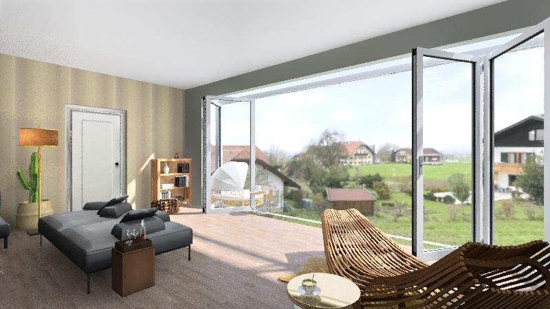 the second house Interior Design Render