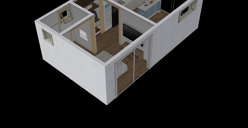 Depto Miraflores Interior Design Render
