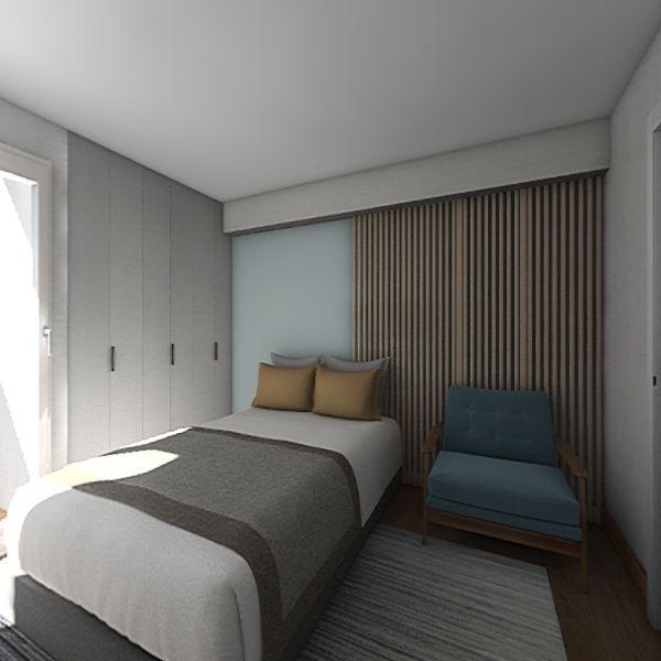 Cuarto principal 2 Interior Design Render