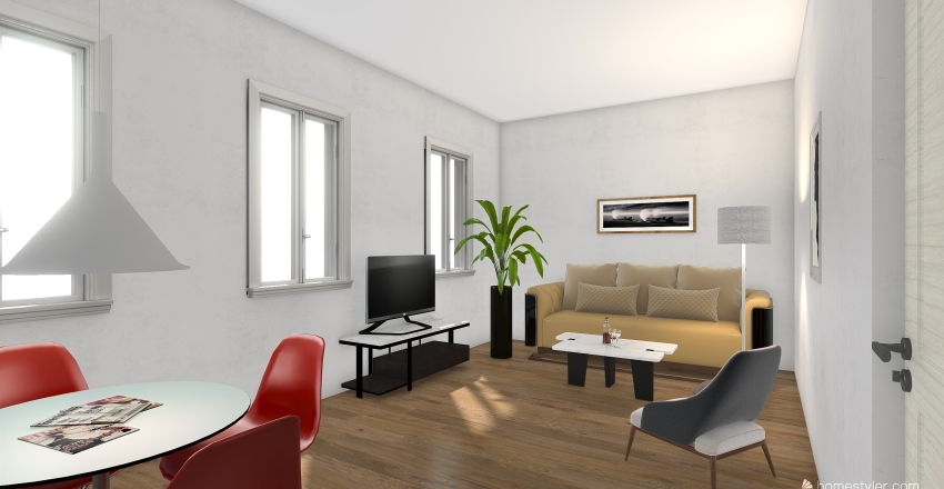 Langenau Rudelberg 20 Interior Design Render
