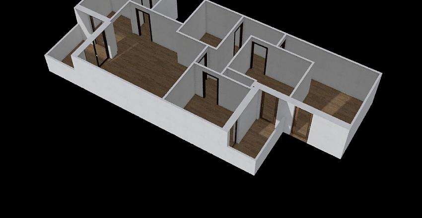 NG Family House Interior Design Render