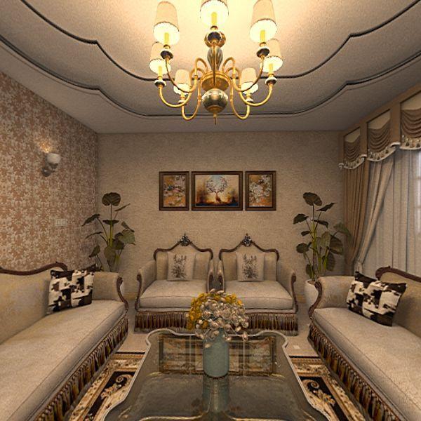 Simple House - Style 1 Interior Design Render