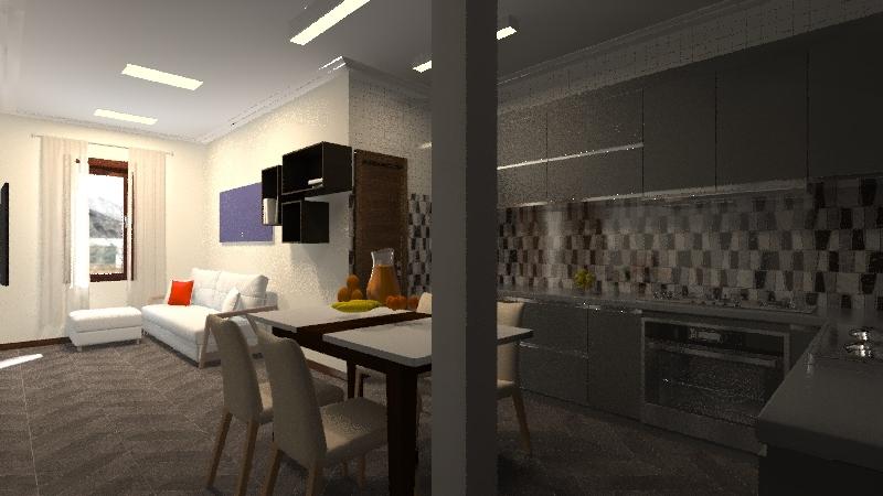 Apartment 2 choice Interior Design Render