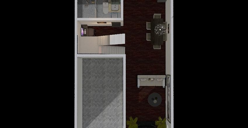 Curiano's House Interior Design Render
