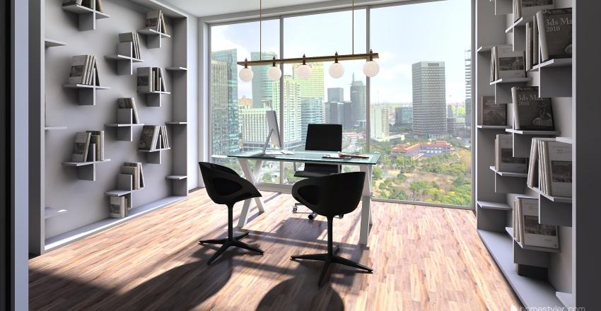 office in the city 2 Interior Design Render