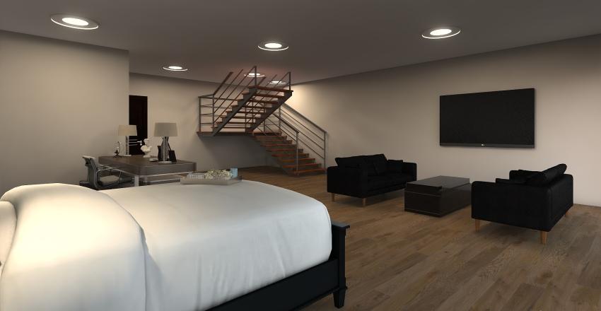 Townhome Interior Design Render