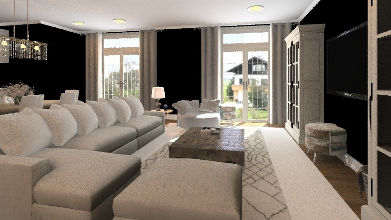Cute Home Interior Design Render
