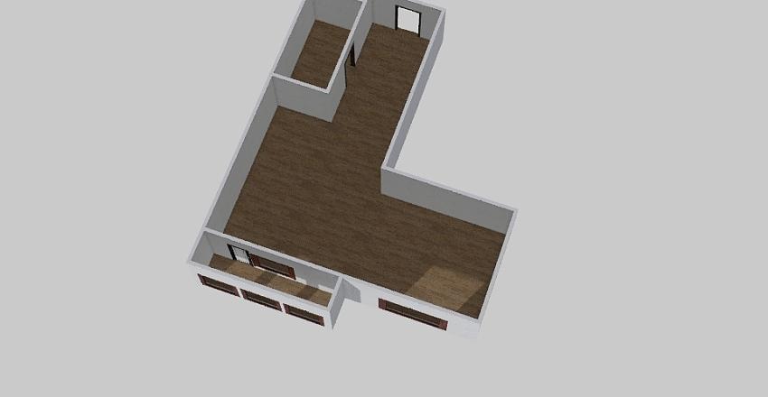 2-комн_0346 Interior Design Render