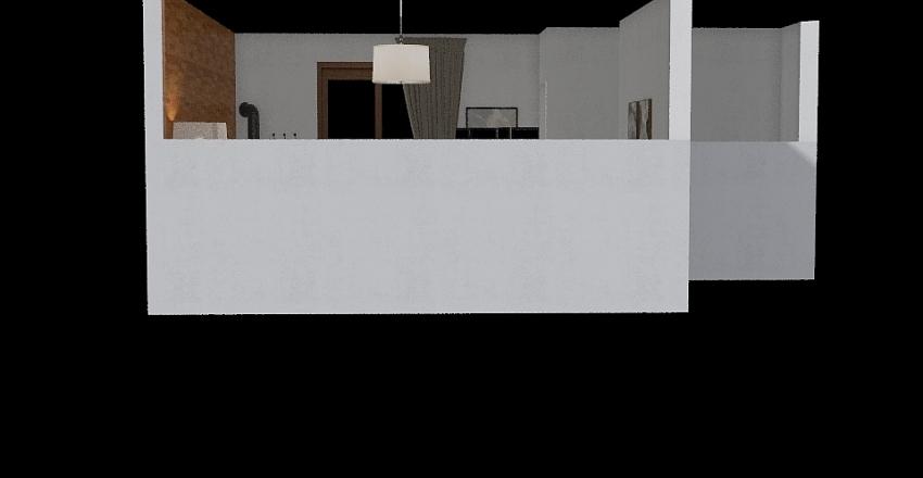 A&A's Bedroom  Interior Design Render