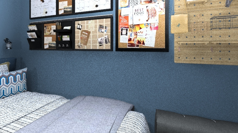 JOHNNY's ROOM Interior Design Render